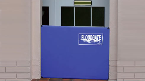 Protect doorways from flooding with Floodgate