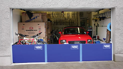 Connect your Floodgates to protect wider openings like garages from floodwater