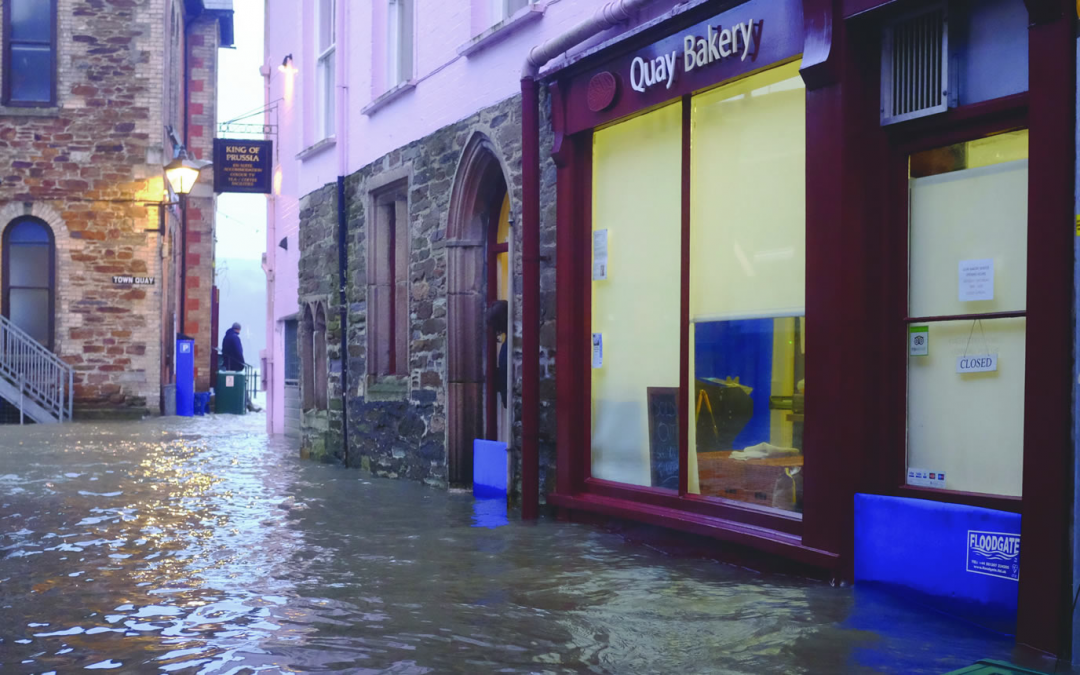 Fowey Bakery rides out the storms…