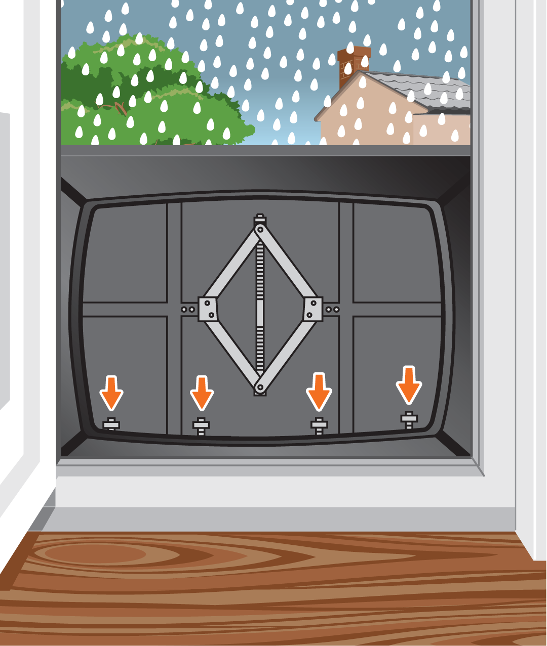 Unique Doorway Flood Protection from Floodgate Ltd